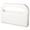 Health Gards Toilet Seat Cover Dispenser, Half-Fold, 16 x 3.25 x 11.5, White, 2/Box