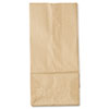 "<strong>General</strong><br />Grocery Paper Bags, 35 lbs Capacity, #5, 5.25""w x 3.44""d x 10.94""h, Kraft, 500 Bags"