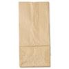 General #5 Paper Grocery Bag, 35lb Kraft, Standard 5 1/4 x 3 7/16 x 10 15/16, 500 bags BAGGK5500