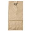 General #4 Paper Grocery Bag, 30lb Kraft, Standard 5 x 3 1/3 x 9 3/4, 500 bags BAGGK4500