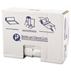 High-Density Can Liner, 30 x 37, 30gal, 16mic, Clear, 25/Roll, 20 Rolls/Carton