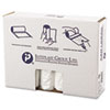 """HIGH-DENSITY INTERLEAVED COMMERCIAL CAN LINERS, 45 GAL, 14 MICRONS, 40"""" X 48"""", CLEAR, 250/CARTON"""