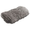 Industrial-Quality Steel Wool Hand Pad, #4 Extra Coarse, 16/Pack, 192/Carton