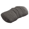 Industrial-Quality Steel Wool Hand Pad, #000 Extra Fine, 16/Pack, 192/Carton