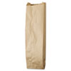 "<strong>General</strong><br />Liquor-Takeout Quart-Sized Paper Bags, 35 lbs Capacity, Quart, 4.25""w x 2.5""d x 16""h, Kraft, 500 Bags"