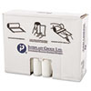 High-Density Can Liner, 33 x 40, 33gal, 13mic, Clear, 25/Roll, 20 Rolls/Carton