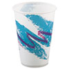Jazz Waxed Paper Cold Cups, 10oz, Rolled Rim, 2000/Carton