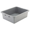 "<strong>Rubbermaid® Commercial</strong><br />Bus/Utility Box, 7.13 gal, 21.5"" x 17.13"" x 7"", Gray"