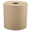 "Windsoft® Nonperforated Roll Towels, 8"" x 800ft, Brown, 6 Rolls/Carton - WIN12806"