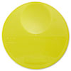 Round Storage Container Lids, 10 1/4 dia x 1h, Yellow