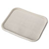 Chinet® Savaday Molded Fiber Food Trays, 14 x 18, White, Rectangular, 100/Carton - HUH20804CT