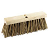 "Boardwalk® Street Broom Head, 16"" Wide, Palmyra Bristles BWK71160"