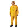 Anchor Brand® Rainsuit, PVC/Polyester, Yellow, X-Large - ANR9000XL