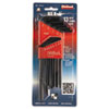 <strong>Eklind®</strong><br />Long-Arm Hex-L Key, 13-Piece Set, SAE, Chrome-Nickel Steel