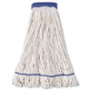 Boardwalk® Mop Head, Super Loop Head, Cotton/Synthetic Fiber, X-Large, White, 12/Carton BWK504WH