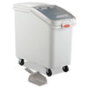 ProSave Mobile Ingredient Bin, 26.18 gal, 15.5 x 29.5 x 28, White