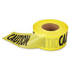 "<strong>Empire</strong><br />""Caution"" Barricade Tape, 3"" x 1,000 ft., Yellow/Black"