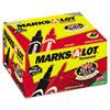 Marks-A-Lot® Regular Desk Style Permanent Marker, Chisel Tip, Black, 24/Pack AVE98187