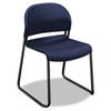 HON® GuestStacker Series Chair, Regatta Blue with Black Finish Legs, 4/Carton HON4031RET
