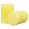 3M™ E·A·R Classic Single-Use Earplugs, Cordless, 29NRR, Yellow, 200 Pairs - 247-312-1201