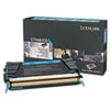 X748H1CG Return Program High-Yield Toner, 10000 Page-Yield, Cyan