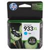 HP HP 933XL, (CN054AN) High Yield Cyan Original Ink Cartridge HEWCN054AN