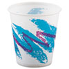 Jazz Waxed Paper Cold Cups, 3oz, Rolled Rim, 100/Bag, 50 Bags/Carton