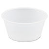 Polystyrene Portion Cups, 3.25oz, Translucent, 250/Bag, 10 Bags/Carton