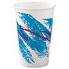 SOLO® Cup Company Jazz Paper Cold Cups, 16oz, 50/Bag, 20 Bags/Carton SCCRSP16PJ