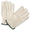 Anchor Brand® 4000 Series Leather Driver Gloves, White, Medium, 12 Pairs - ANR4000M