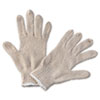 <strong>Boardwalk®</strong><br />String Knit General Purpose Gloves, Large, Natural, 12 Pairs