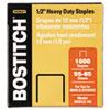 "Bostitch® Heavy-Duty Premium Staples, 1/2"" Leg Length, 1000/Box BOSSB35121M"