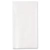 NON-RETURNABLE. 1/6-Fold Linen Replacement Towels, 13 X 17, White, 200/box, 4 Boxes/carton