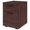 Box/File Mobile Pedestal for 10500/10700 Shells, 15.75w x 18.88d x 21.88h, Mahogany