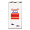 TOPS® Reporter Notebook, Legal/Wide, 4 x 8, White, 70 Sheets, Dozen TOP8030