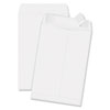 Redi Strip Catalog Envelope, 6 1/2 x 9 1/2, White, 100/Box