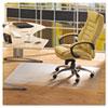 Floortex™ Cleartex Advantagemat Phthalate Free PVC Chair Mat for Hard Floors, 53 x 45 FLRPF1213425EV