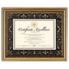 DAX® Florence Document Frame with Mat, Gold, Plastic, 11 x 14, 8 1/2 x 11 DAXN2742S1T