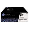 <strong>HP</strong><br />HP 85A, (CE285D) 2-Pack Black Original LaserJet Toner Cartridges