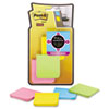 Post-it® Notes Super Sticky Full Adhesive Notes, 2 x 2, Assorted Rio de Janeiro Colors, 25-Sheet, 8/ MMMF2208SSAU
