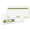 Quality Park™ Bagasse Sugarcane Tinted Window Envelopes, #10, 500/Box QUA90077