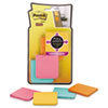 Post-it® Notes Super Sticky Full Adhesive Notes, 2 x 2, Assorted Bora Bora Colors, 25-Sheet, 8/Pack MMMF2208SSFM