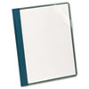 Earthwise by Oxford Recycled Clear Front Report Covers, Letter Size, Blue, 25/BX