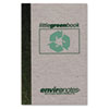 Roaring Spring® Little Green Book, Gray Cover, Narrow Rule, 6 x 4, White Paper, 60 Sheets ROA77357