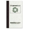 Roaring Spring® Little Green Book, Gray Cover, Narrow Rule, 5 x 3, White Paper, 60 Sheets ROA77356