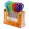 Fiskars® Children's Safety Scissors, Blunt, 5 in. Length, 1-3/4 in. Cut, 12/Pack FSK95017197J