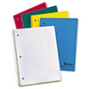Earthwise by Oxford Recycled 1-Subject Notebooks, 11 x 8 1/2, WE, 3 Hole, 80 SH
