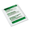 Office Essentials™ Table 'n Tabs Dividers, 12-Tab, Letter AVE11672