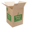Duck® Heavy-Duty Moving/Storage Boxes, 18l x 18w x 24h, Brown DUC280727