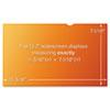 "3M Frameless Gold Notebook Privacy Filter for 13.3"" Widescreen, 16:10 Aspect Ratio MMMGPF133W"